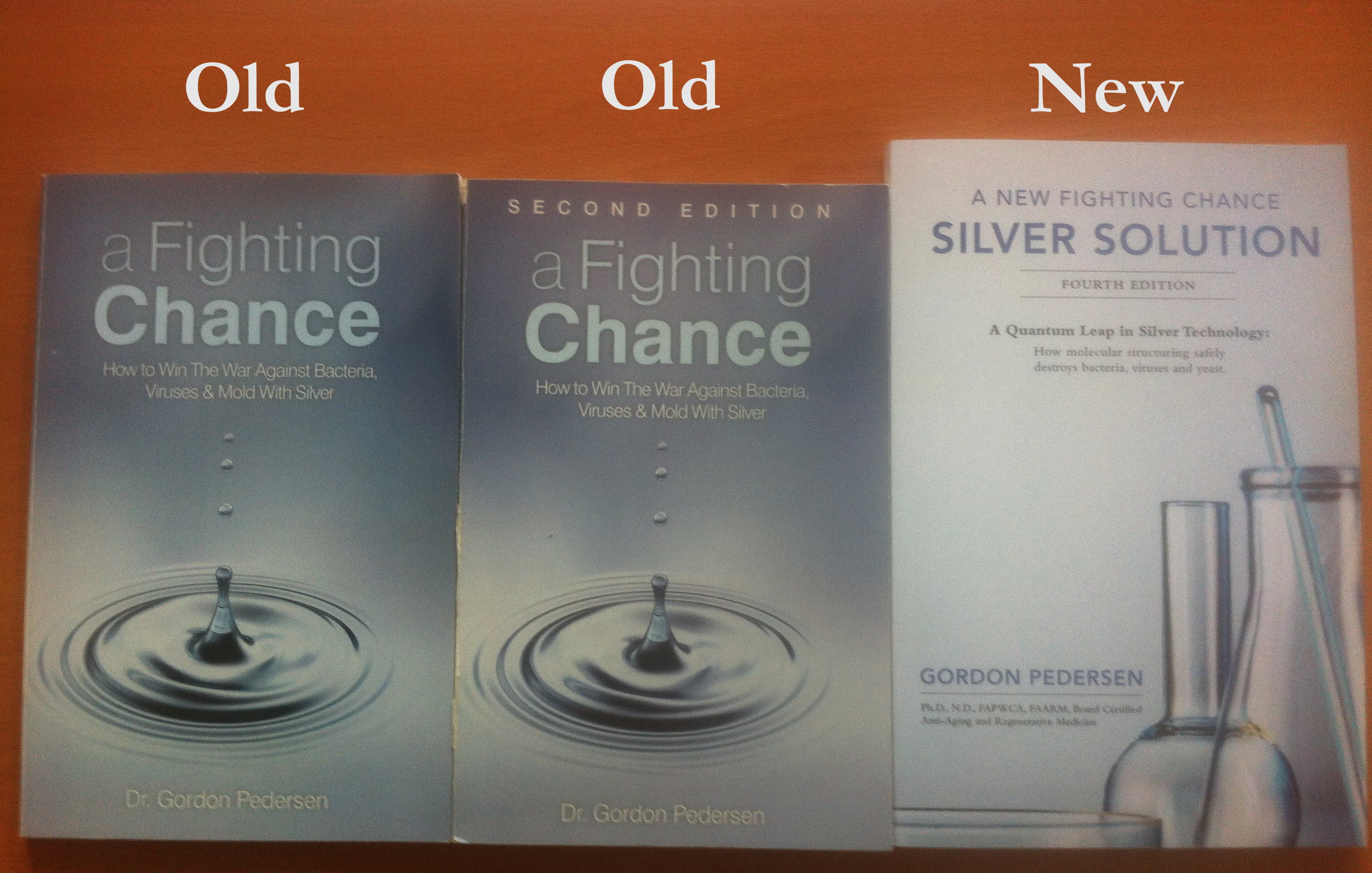 A Fighting Chance & A New Fighting Chance - Dr. Gordon Pedersen Books